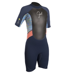 Gul Girls 3/2mm Response Shorty Wetsuit - Multi (2019)