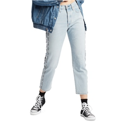 Levi's 501 Crop Jeans - Light Blue