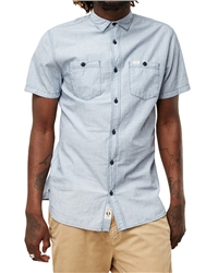 O'Neill Mens Cut Back Shirt - Blue