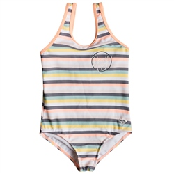 Roxy Lets Go Swimsuit - Salmon