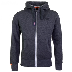 Superdry Orange Label Hoody - Black