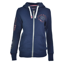 Superdry T&F Hoody - Navy