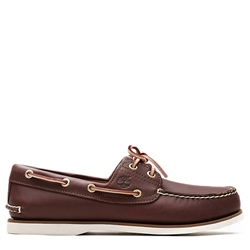 Timberland Classic Boat 2 Eye Shoes - Medium Brown