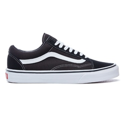 Vans Womens Old Skool Shoes - Black & White