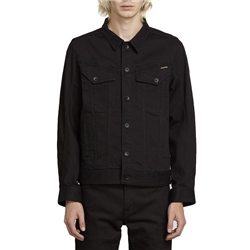 Volcom Weaver Denim Jacket - Black