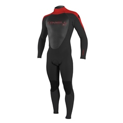 O'Neill Boys Epic 3/2mm Wetsuit - Red & Black