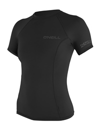 O'Neill Womens Thermo X Rash Vest - Black