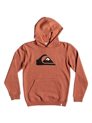 Quiksilver Boys Big Logo Hoody - Barn Red