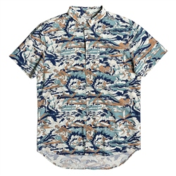 Quiksilver Men's Feeling Fine Shirt - Sea