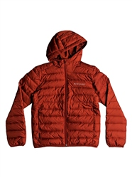 Quiksilver Boys Scaly Jacket - Barn Red