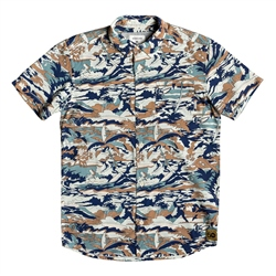 Quiksilver Boys Feeling Fine Shirt - Sea