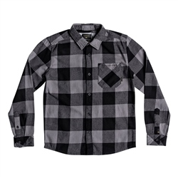Quiksilver Boys Motherfly Shirt - Black