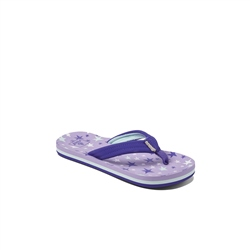 Reef Kids Ahi Flip Flops - Purple