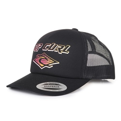 Rip Curl Men's Back To Basic Trucker Cap - Black