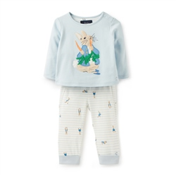 Joules Byron Joggers Set - Blue Rabbit
