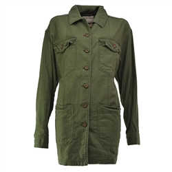 Free People Spruce Military Jacket - Spruce Military
