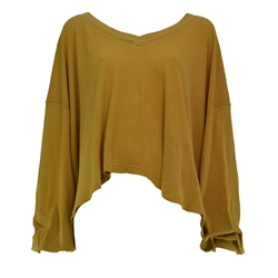 Free People Buffy Top - Gold