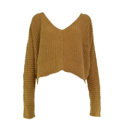 Free People Moonbeam Jumper - Mustard