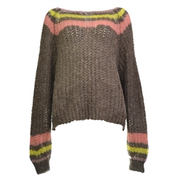 Free People Reach For Stars Jumper - Neutral Combo