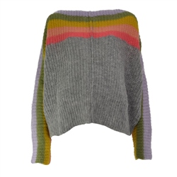 Free People See Rainbow Jumper - Grey