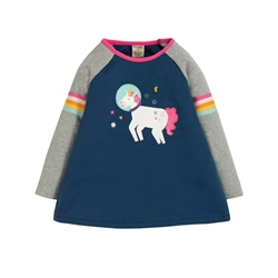 Frugi Suzie Swing T-Shirt - Multi