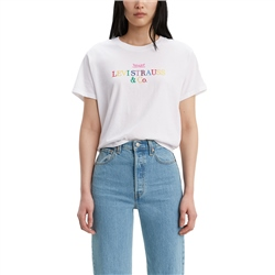 Levi's Graphic Varsity T-Shirt - Logo White