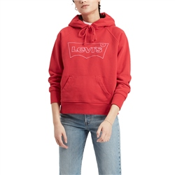 Levi's Graphic Sport Hoody - Brilliant Red