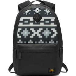 Nike SB Icon AOP Backpack - Black & Grey