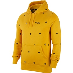 Nike SB Diamond Hoody - Yellow
