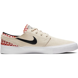 Nike SB SJ RM Prem Shoes - Cream & Red