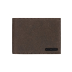 Quiksilver Bridgies III Wallet - Chocolate Brown