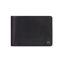 Quiksilver Mack IX Leather Wallet - Black