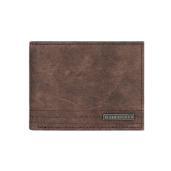Quiksilver Stitchy VI Wallet - Chocolate Brown