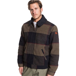 Quiksilver Hurry Down Sherpa Jacket - Croc