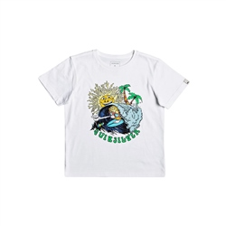 Quiksilver Boom Its Done T-Shirt - White
