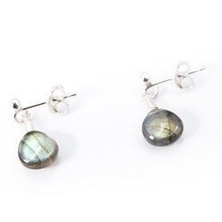 Sadie Jewellery Gemstone Stud Earrings - Multi