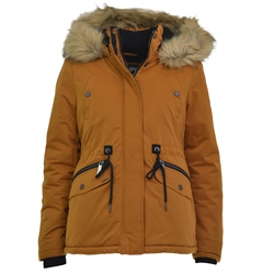 Superdry Alpine Micro Jacket - Brown