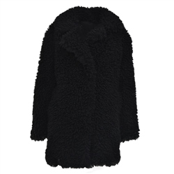 Superdry Chester Fur Jacket - Black