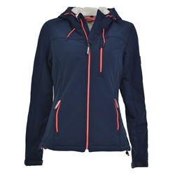 Superdry Womens Winter Jacket - Navy
