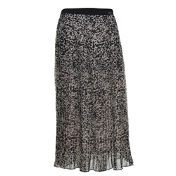 Superdry Pleated Skirt - Leopard