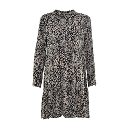 Superdry Scandi Shirt Dress - Leopard