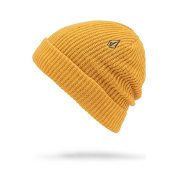 Volcom Sweep Lines Beanie - Gold