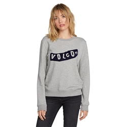 Volcom Sound Check Sweatshirt - Heather Grey