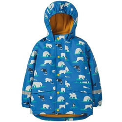 Frugi Puddle Buster Coat - Polar