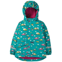 Frugi Puddle Buster Coat - Rainbow