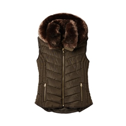 Joules Maybury Hooded Gilet - Heritage Green