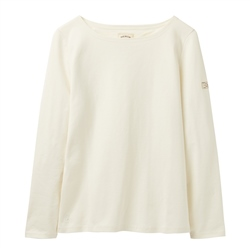 Joules Harbour Solid Top - Cream