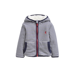 Joules James Reversible Hoody - Cream & Navy