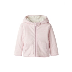 Joules Cosette Reversible Hoody - Pink Stripe