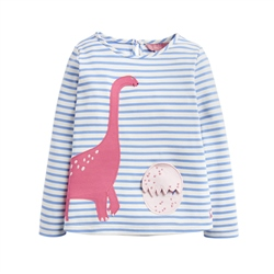 Joules Chomp T-Shirt - Blue Dino